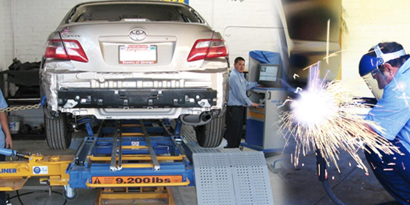 Auto body repair Orange County