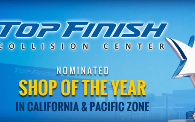 Nomination for Shop of The Year in CA and Pacific Zone.