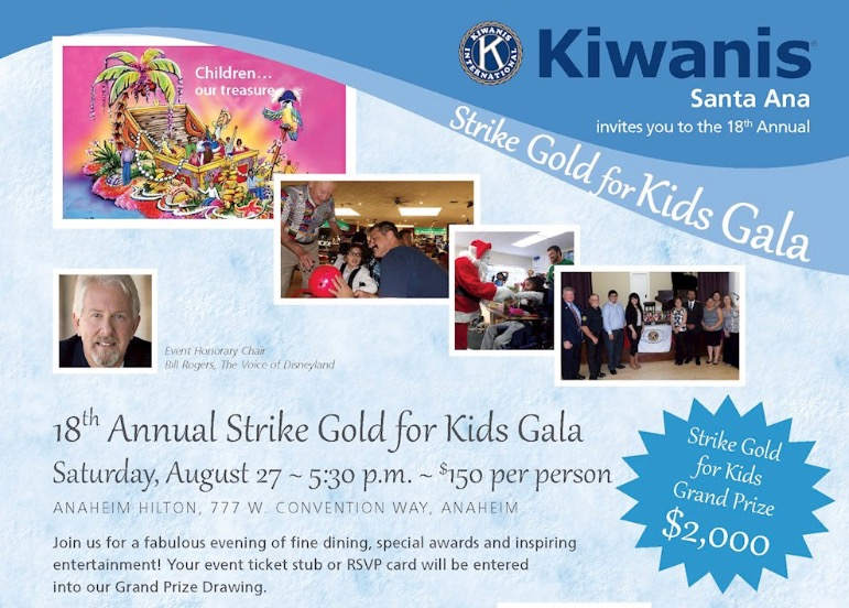 Top Finish Supports Strike Gold for Kids